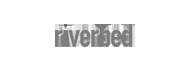 riverbed logo grey